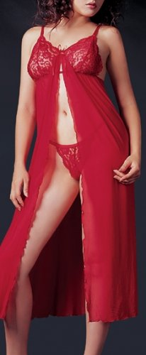 ~ Sexy & Beautiful Mesh Long Gown ~