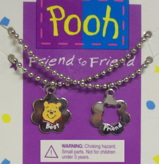 Children's  Jewelry, Winnie the Pooh Necklaces, Friend to Friend, Floral shaped**