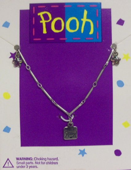 Children's  Jewelry, Winnie the Pooh Necklace w/ small butterflies**2015