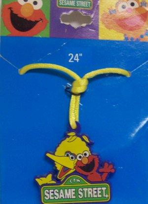 Children's Jewelry, Sesame Street  Necklace, Big Bird