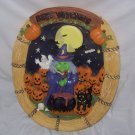 Halloween Decorations, Ceramic Wreath with  lights and sound