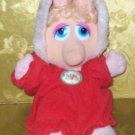 Stuffed Animal, Plush Toy, Miss Piggy 1987 by Henson Associates