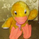 Stuffed Animal, Plush Toy, Vintage Duck made in Santa Monica, CA