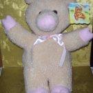 Stuffed Animal, Plush Toy, Hug Fun Intl, Pink Pig