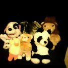 Stuffed Animals, Plush Toys - Assorted Hand Puppets
