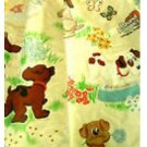Children Vintage Pound Puppies Drapes