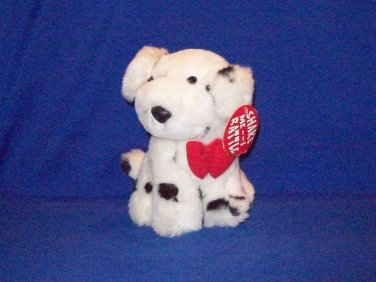 STUFFED ANIMALS,  Plush Toy-  multi colored dog, who rattles