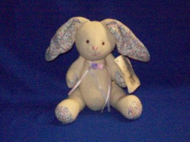 Stuffed Animal, Plush Rabbit, Country Classic by Russ