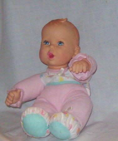 Gerber and baby head stuffed doll 1998