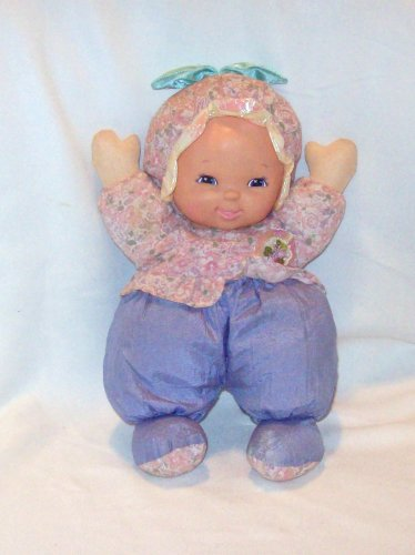 Fuzzy Fleece Baby, soft cloth body baby doll with vinyl face.