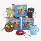 Yummy Dessert Keychains