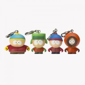 South Park Zipper Pulls