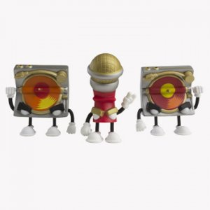 2 Turntables & A Microphone - 3 Pack
