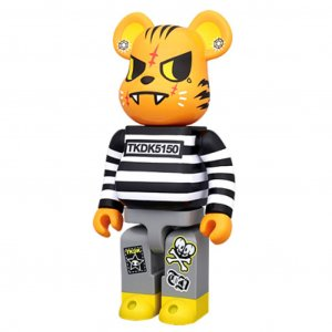 Tokidoki 400% Bearbrick - Tiger