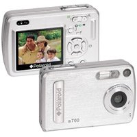 "POLARIODPolariod a700 7.0 Megapixel Digital Camera with 2.0"" TFT LCD Display"