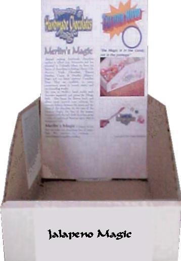 Display box for Jalapeno Magic