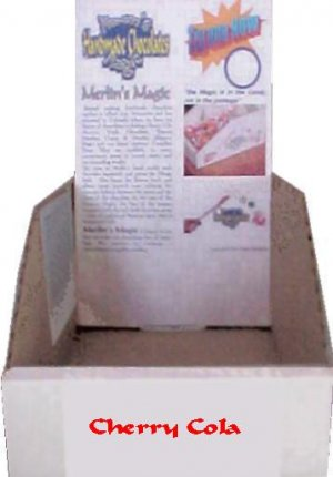 Display box for Cherry Cola