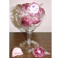 Pink Champagne 8 pc in champagne glass