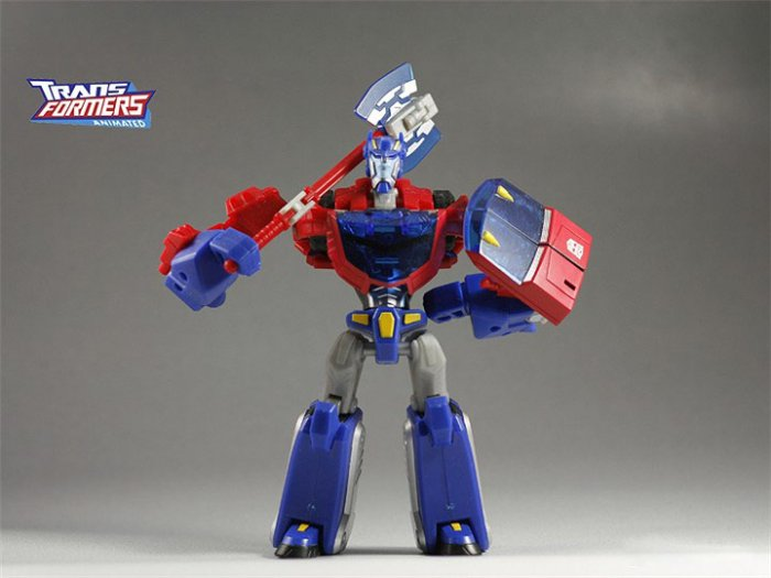 [HASBRO]2008 Transformers Animated Toys : [DeluxE] OPTIMUS PRIME