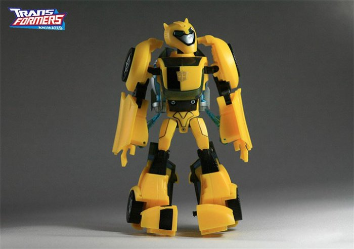 [HASBRO]2008 Transformers Animated Toys : [DeluxE] Bumblebee