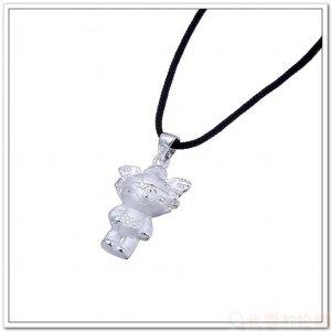 925 Sterling Silver Pendant/Charms 2008 Olympic Mascot Fuwa : NiNi