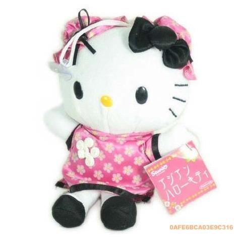 cute pink Hello Kitty Chinese style cheongsam Princess