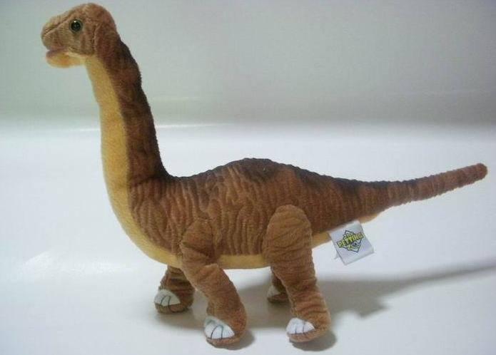 Soft Dinosaur Doll : THE PETTING ZOO