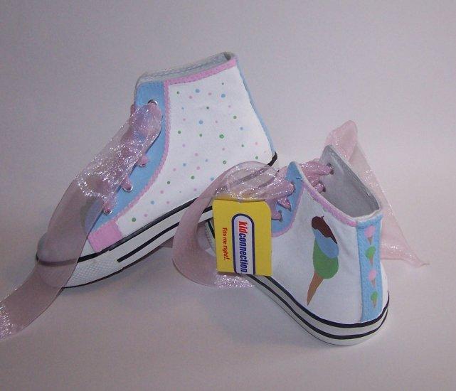 Gymboree Custom Ice Cream Handpainted M2M Shoes