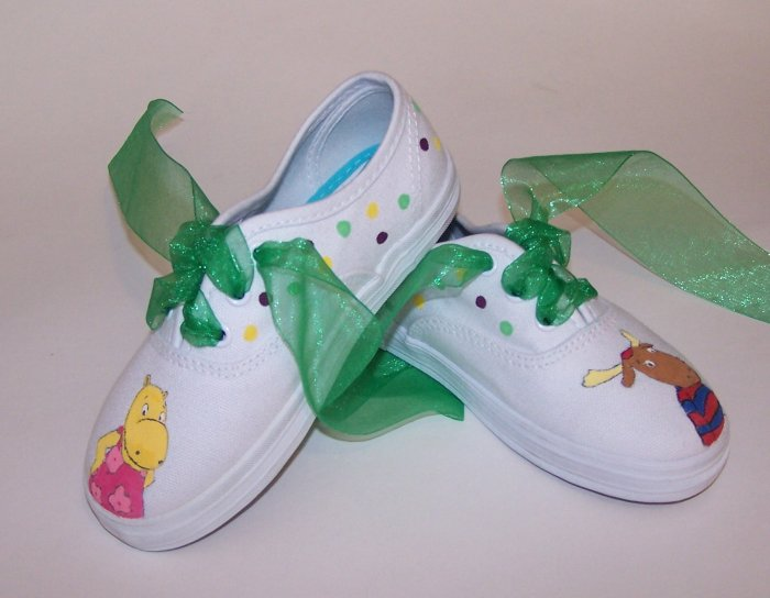 Nickelodeon Custom Backyardigan Shoes