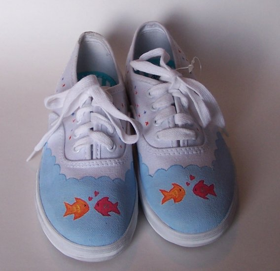 Gymboree Custom M2M Tropical Garden Shoes