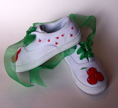 Gymboree M2M Cherry Shoes