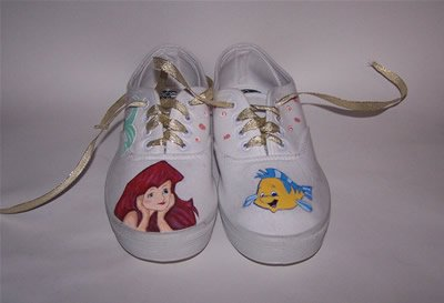 Custom Disney Shoes