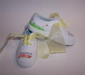 Mommy/Daddys lil Girl Custom Shoes