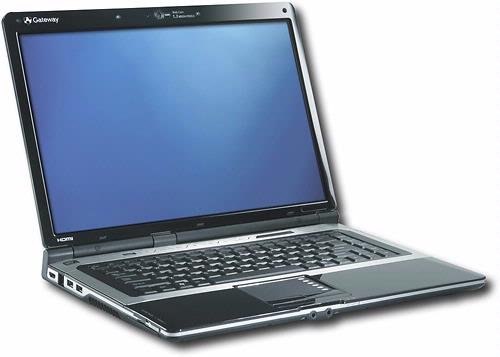 Gateway M-1617 Laptop 1.9GHz 2GB 250GB DL DVDRW WiFi