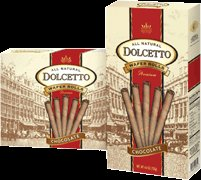 DOLCETTO WAFER ROLLS: CHOCOLATE