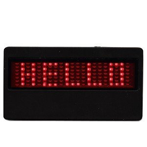 LED Name Badges