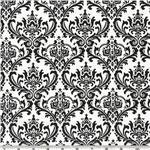 """Damask Table Square  Madison  for centerpiece 18""""x 18"""" small runner black white & Other Colors"""