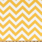 "Yellow Chevron runner 72"" Zigzag Table runner Chevron yellow and white"