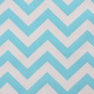 CHEVRON TABLE RUNNER-- light turquoise girly blue Chevron fabric 6 ft