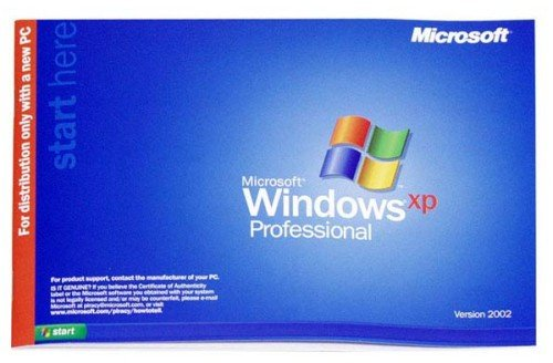 Microsoft Windows XP Professional with SP2 Software