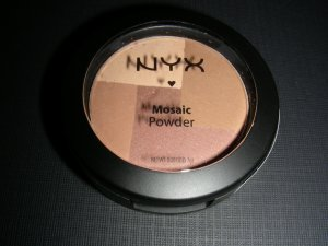 NYX MOSAIC POWDER BLUSH - LATTE
