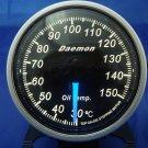 Daemon Professional 60mm Stepper Motor Oil Temperature Gauge