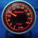 Daemon Professional 60mm Stepper Motor Volt Gauge