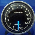 Daemon Professional 60mm Stepper Motor Oil Pressure Gauge