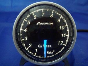 Daemon Professional 60mm Stepper Motor Oil Pressure Gauge