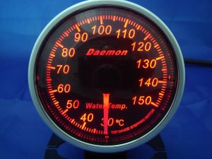 Daemon Professional 60mm Stepper Motor Water Temperature Gauge