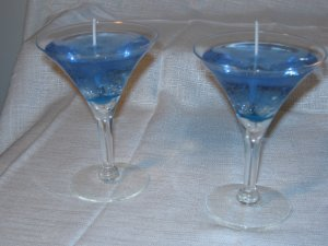 Blue Saphire Martinis