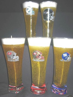 Licensed Sports Logo Pilsners