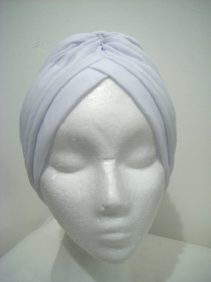 White Turban Hat