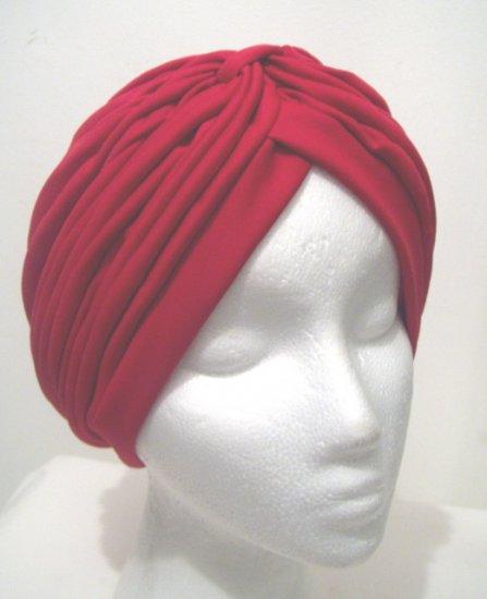 Red Turban Hat